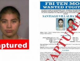 One of FBI's 10 Most Wanted Arrested in Edomex