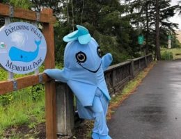 Oregon town renames park after whale it blew up 50 years ago