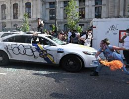 Philadelphia woman charged with torching police cars in George Floyd unrest