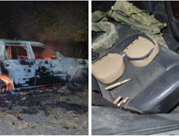 Sinaloa: Heavy arsenal and armored vehicles seized after confrontation in Tepuche