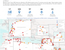 Syria: Tracking Mobility Impact - Points of Entry Analysis: June 11, 2020 IOM Regional Office for the Middle East and North Africa