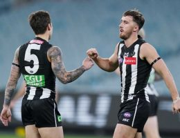Tigers, Magpies draw in 103-year first at empty MCG