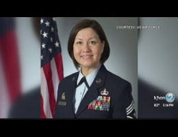 U.S. Air Force Makes History Naming Woman As Its Top NCO