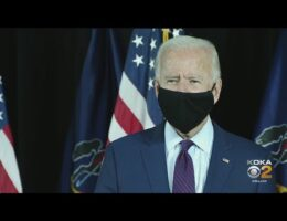 US Presidential Candidate Biden Says He'd Use Executive Powers To Force Americans To Wear Masks In Public