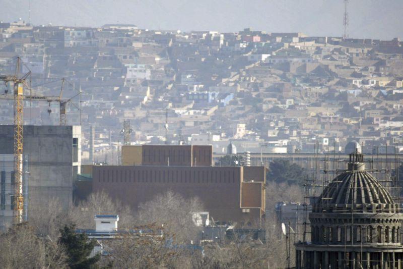 Virus Outbreak Afghanistan US Embassy