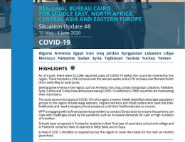 World: WFP Regional Bureau for the Middle East, North Africa (MENA), Central Asia & Eastern Europe COVID-19 Situation Report #8, 15 May - 4 June 2020