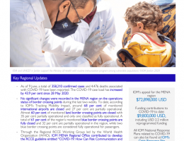 Yemen: IOM Regional Office for Middle East and North Africa COVID-19 Response - Situation Report 5 (2 9 May – 1 0 June 2020)