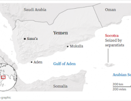 Yemen Separatists Have Seized Control Of The Island Of Socotra In The Arabian Sea