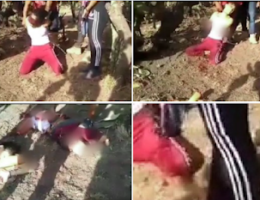 Zacatecas: Gruesome video uploaded to social media of CJNG dismembering young girl
