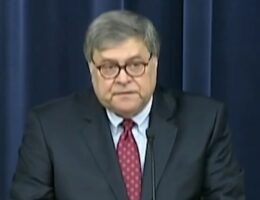 AG Barr decries 'lawless, evil action' after shooting attack of federal judge's son, husband