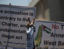 Annexation angst in the Middle East