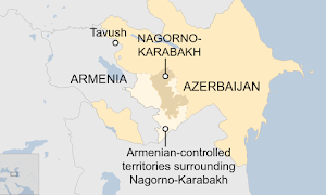 Armenia-Azerbaijan Border Clashes Continue