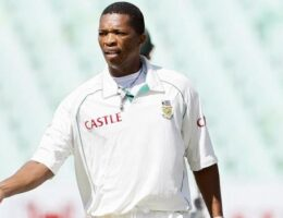 Black South African cricketer on 'lonely' career