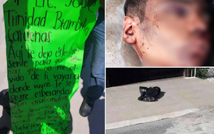 CDN leaves severed head in front of home of Tamaulipas public prosecutor