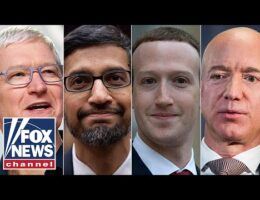 CEOs Of Apple, Google, Facebook, And Amazon Face Congress