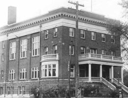 Charles Thompson Memorial Hall was 1st social club for the deaf in the United States