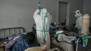 Hospital ward in Antananarivo