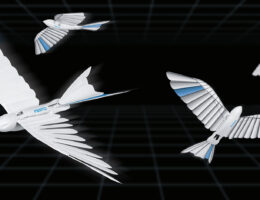 Festo's latest biomimetic robots are a flying feathered bird and ball-bottomed helper arm
