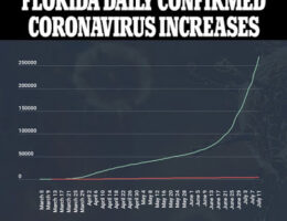 Florida Sets New Record For Daily Coronavirus Cases Of Any US State Since The Pandemic Began