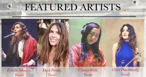 Four star vocalists on album singing