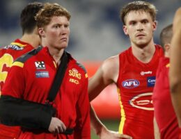 Gold Coast Suns yet to decide whether Matt Rowell will have shoulder surgery