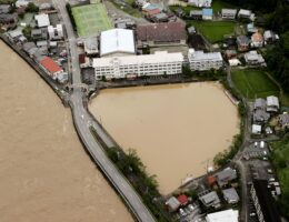Japan battered by more heavy rain, floods, nearly 60 dead