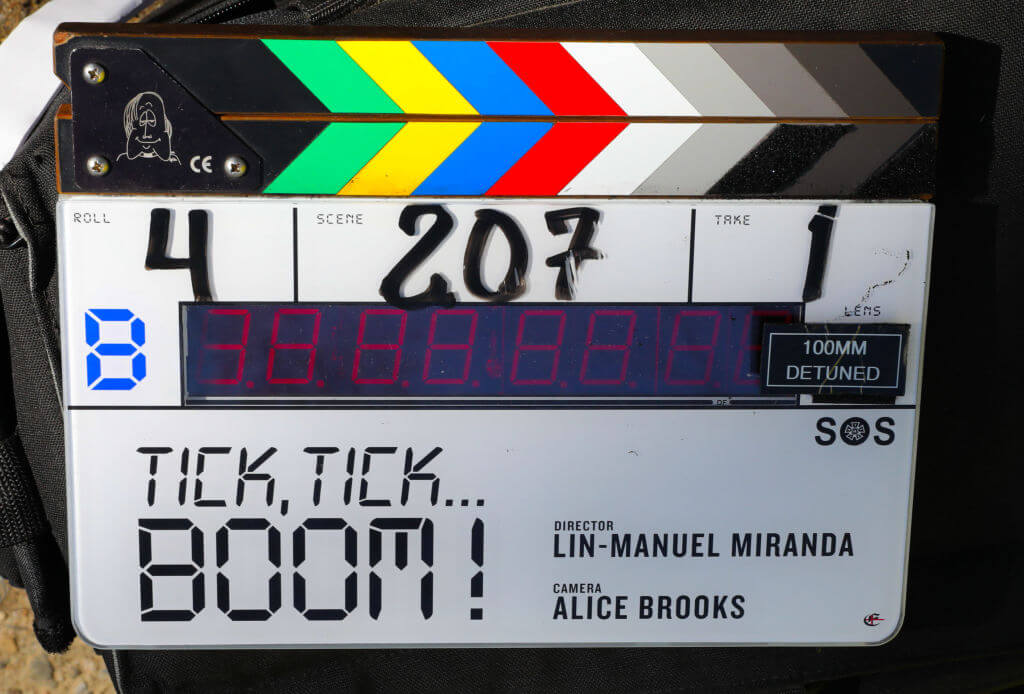 tick tick boom filming locations 2