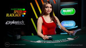 Majority Rules Speed Blackjack by Playtech
