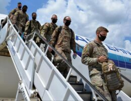 More than 120 NC National Guard soldiers return home from Middle East