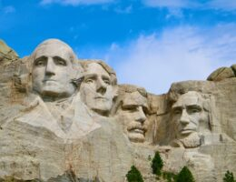 Mount Rushmore, and the United States' white supremacist-in-chief