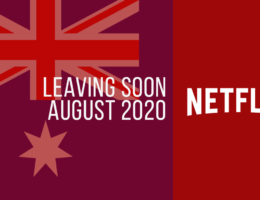 Movies & TV Series Leaving Netflix Australia in August 2020