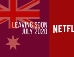 Movies & TV Series Leaving Netflix Australia in July 2020