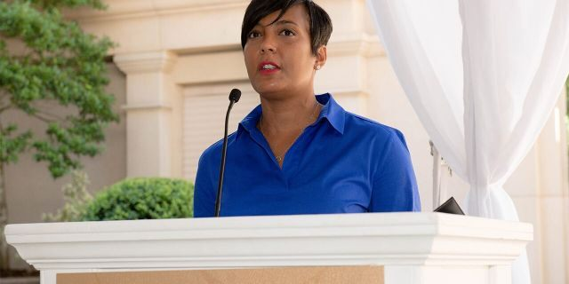 Atlanta Mayor Keisha Lance Bottoms speaks onstage during the City of Hope - Sylvia Rhone Spirit Of Life Kickoff Breakfast at St. Regis Buckhead. Lance Bottoms is one of the top contenders to be Joe Biden's vice presidential nominee. (Photo by Marcus Ingram/Getty Images for City Of Hope)
