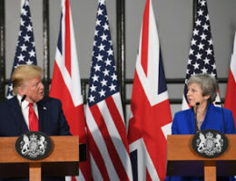 President Trump Called Former UK PM Theresa May Weak. Germany's Angela Merkel 'Stupid'