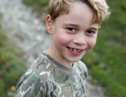 Prince George photos mark seventh birthday