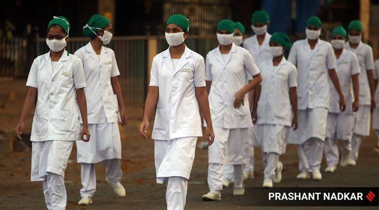 private hospitals, Middle East countries, nurses leave, Pune news, Indian express news