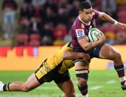 Queensland Reds stay unbeaten in Super Rugby AU with 31-24 win over Western Force