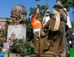 Richmond's Confederate Soldiers and Sailors statue dismantled, latest monuments to come down