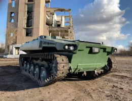 Russia Begins Trials Of Its Newest Generation Of Unmanned Ground Vehicle