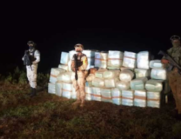 San Quintin, Baja Ca: 1,456 Kilograms of Misc Drugs Seized