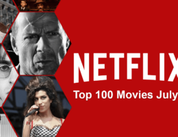 Top 100 Movies on Netflix: July 2020