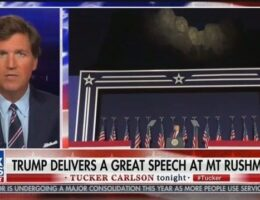 Tucker Carlson Praises Trump Speech That Cribbed From His Fox Show