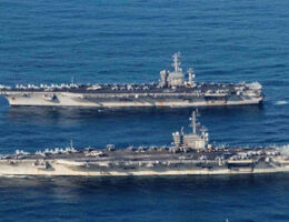U.S. avy Taking 'Extraordinary Measures' To Keep Its Carriers In The South China Sea Covid-19 Free
