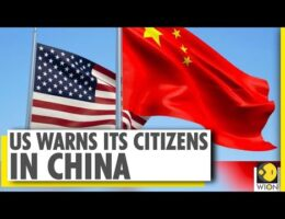 US Warns Citizens They Risk 'Arbitrary Detention' In China