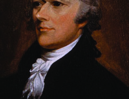 Alexander Hamilton: one of the Founding Fathers of the United States