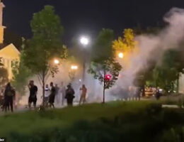 Another Night Of Unrest In Washington DC