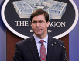 Are US Defense Secretary Mark Esper's Days In The Pentagon Are Numbered?