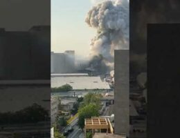 Beirut Explosion Viewed From Apartment Building That Shows There Were 2 Major Explosions