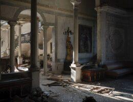 Blast destroyed landmark 19th century palace in Beirut