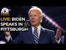Democrat Presidential Candidate Joe Biden Blames President Trump For Widespread City Violence
